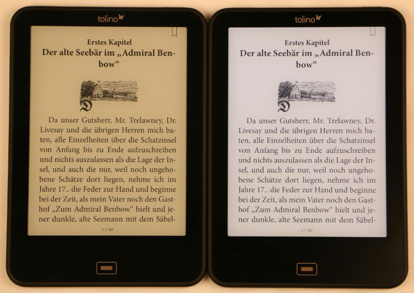 e book reader mit beleuchtung. Black Bedroom Furniture Sets. Home Design Ideas